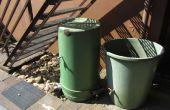 Arreglar grietas en un tanque de agua de lluvia con sugru