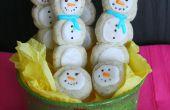 Muñeco de nieve Cookie Pops
