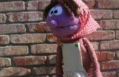 Púrpura pionero marioneta