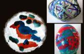 3 artes fácil usando esmalte de uñas y cáscaras de huevo