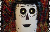 Máscara muerta de Manolo - el libro de la vida