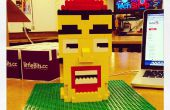 LittleBits + Lego animado cabeza