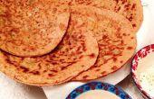 Cómo hacer pan plano indio, Roti