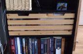 Caja de almacenamiento de estantería de IKEA (feat. silueta de gato)