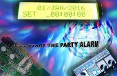 Fiesta Inicio alarma con configuración BT