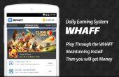 Cómo obtener gratis Gem en el choque del Clan usando Whaff recompensa
