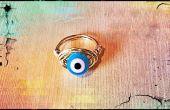 Cómo hacer un anillo de mal de ojo