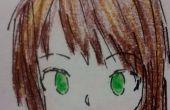 Simple cara de Anime