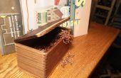 Tabaco (o cualquier otra cosa) caja de madera