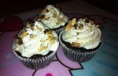 Cupcakes de almendra chocolate