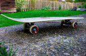 Hacer una tabla de skate de un Snowboard