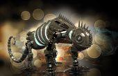 Robusteza del Dinobot - Heavy metal para impresión 3D