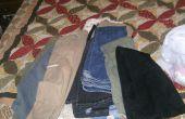 Sacos de arena DIY (con pantalones viejos!)