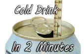 Enfriar una bebida en 2 minutos