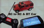 Hack fácil RC para RC y BT coche usando Linkit uno