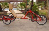Trike eléctrico personalizado - es para los perros.