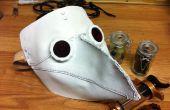 Cómo hacer una máscara de cuero plaga médico