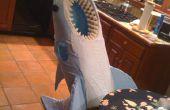 Cómo hacer un disfraz de tiburón