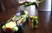 Pinewood Derby coches inspirados en LEGO Ninjago