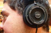 Fijar un cable pelado en sus auriculares