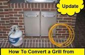 Cómo convertir una parrilla de propano a Gas Natural (actualización)