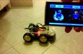 Bluetooth de rover 4WD Arduino controlado por teléfono/tablet Android