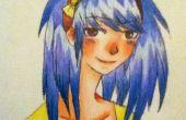 Para dibujar y Color un Anime en la cabeza