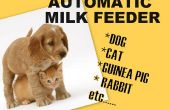 Alimentador automático de leche