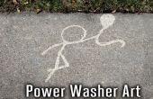 Energía lavadora arte
