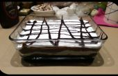 Lasaña de Chocolate fácil