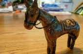 Efecto de imitación bronce de arcilla