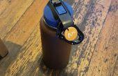 NFC la botella de agua llena contador
