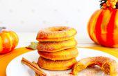 Al horno calabaza especia Donuts