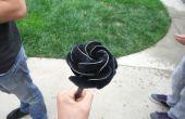 Cómo hacer una rosa de Metal