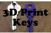 Cómo 3D Print House llaves (más fácil)