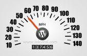 Cómo mejorar tu Blog carga velocidad