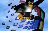 Quemar vivo distro de Linux la manera fácil!