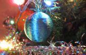 Árbol de Navidad juguete de la pelotita de ping pong