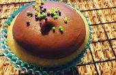 Helado de vainilla Chocolate con leche receta de Cupcakes