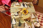 Cubierta libro de Adviento de la Navidad (sin coser)