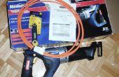 Modding de una sierra sin cuerda para funcionar con 12 voltios de