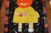 Robot de Halloween acolchado del colgante de pared