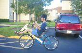 Barato corto distancia entre ejes madera conversión bicicleta reclinada