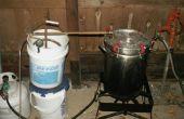 Construir su propio destilador Extractor de aceite esencial