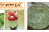 BRICOLAJE casero de Aloe Vera gel - Cómo hacer fresco Aloe Vera gel en casa en 10 minutos