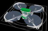 3D impreso Quadcopter
