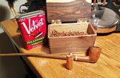 Simple madera y hierro tubo herramienta