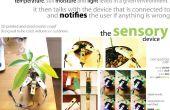 """Dispositivo sensorial para """"el Doctor de las plantas - planta cuidado instrumentos"""""""