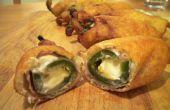 Maltratadas de crepe dulce y picante jalapeño Poppers