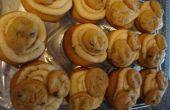 Cupcakes de masa de galleta